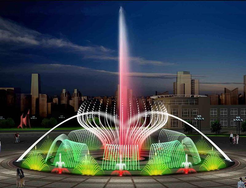 喷泉厂家介绍喷泉种类