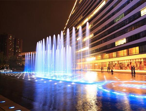 音乐喷泉设计以及喷头的选择